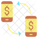Mcurrency Exchange Online Transfer Transfer Dollar Icon