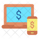 Monline Payment Online Transfer Dollar Transfer Icon