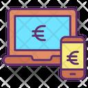 Mbusiness Commerce Online Transfer Euro Transfer Icon