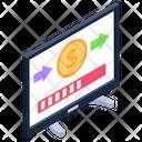 Online Transfer Online Transaction Dollar Transfer Icon