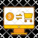 Online Transfer Crypto Transfer Money Transfer Icon