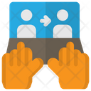 Online Transfer Discussion Icon
