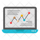Data Analytics Infographic Statistics Icon