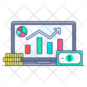 Web Analytic Data Analytics Business Infographic Icon