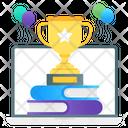Online Trophy Online Achievement Online Reward Icon