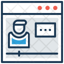 Video Lecture Learning Icon