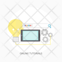 Online Tutorials Education Icon