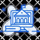 Online University Online School Online College Icon