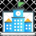 Online University Online School Online Institute Icon