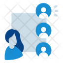 Online User Online Chat Icon