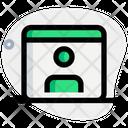 Online User Online Profile Online Account Icon