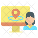 Online User Location Icon