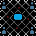 Network Partner Online Icon