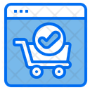 Online Verify Shopping Online Shopping Shopping Website Icon
