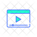 Online Video Video Video Player Icon