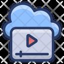 Online Video Cloud Video Marketing Digital Marketing Icon