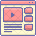 Online Video Youtube Icon