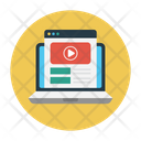 Video Online Tutorial Icon