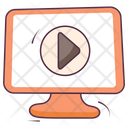 Video Play Video Streaming Online Video Icon
