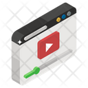 Online Video Video Website Internet Video Icon
