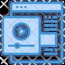 Online Media Seo Icon
