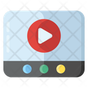 Internet Video Online Video Play Video Icon