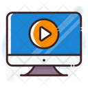 Online Video Icon