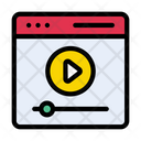 Video Player Webpage Icon