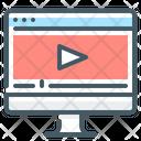 Live Stream Monitor Icon