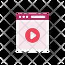 Webpage Browser Web Icon