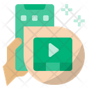 Online Video Video Play Video Icon