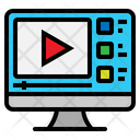 Video Player Screen Icon