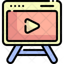 Video Player Play Button Movie Icon