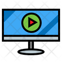 Video Player Display Player Icon