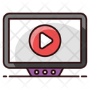 Online Video Internet Video Video Streaming Icon