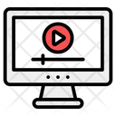 Online Video Video Marketing Media Player Icon