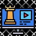 Monitor Media Screen Icon