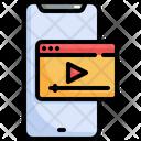 Video Media Player Icon