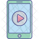 Mobile Media Video Icon