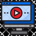 Website Player Web Icon