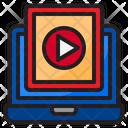 Online Video Online Music Music Icon