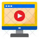 Online Video Video Play Vedio Icon