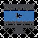 Online Video Online Video Icon