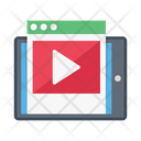 Video Browser Mobile Icon