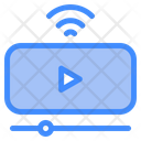 Online Video Video Streaming Stream Icon