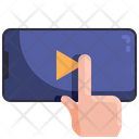 Online Video Education Video Video Play Icon