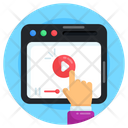 Web Video Online Video Video Streaming Icon