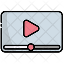 Online Video Video Streaming Video Icon