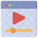 Online Video Video Streaming Internet Video Icon
