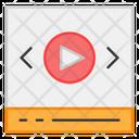 Online Video Icon